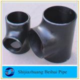 Té égal de l'ajustage de précision de pipe de guerre biologique d'acier du carbone Sch40 Smls