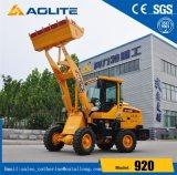 Низкая цена Aolite малых колесного погрузчика 920 с маркировкой CE