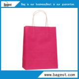 Autre couleur du papier kraft sac cadeau pour l'emballage du vêtement