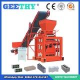 Machine de fabrication de brique creuse semi automatique du bloc Qtj4-35b2