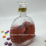 Normale klassische Wein-Glasflasche für Whisky und Xo