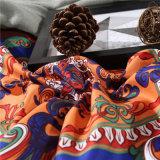 4 Peças de microfibras Bohemian cama estilo étnico define Boho Edredão Conjunto da Tampa