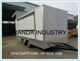 Modern Ice Cream Catering Trucks International Standard Hot Dog Trailers