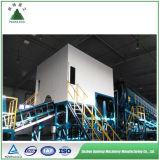 Los residuos de la energía de la planta de clasificación de residuos urbanos de la planta de reciclaje de residuos municipales