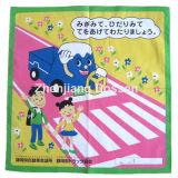 Soem-Erzeugnis passte Karikatur-Zeichen gedruckten Baumwollkopf-Verpackungs-Schal an