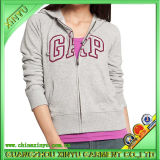 Cotone 100% Fashion Lady Hoodies con Applique