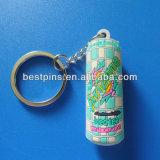 Le caoutchouc PVC trousseau de clés personnalisé bouteille d'huile/trousseau de clés/porte-clé/tag/une touche de charme