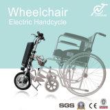 Velocidad máxima 20km / H Motocicleta de E-Handcycle del E-Handcycle del eje de la rueda de 250W para la silla de ruedas