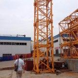 gru a torre del macchinario di costruzione 10t 6018 con il fiocco di 60m