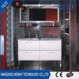 Самомоднейший домашний пол стоя шкаф ванной комнаты мебели PVC