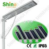 40W LED統合された80W Sunpower/のモノラル太陽電池パネルの太陽街灯