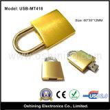 USB dorato Pendrive (USB-MT418) della serratura