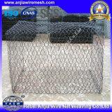Preço baixo Black Wire Wire Hexagonal Gabion Box com (CE e SGS)