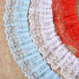 Mehr Rüsche-Spitze der Farben-Wahl-4cm für Kleid-Zubehör