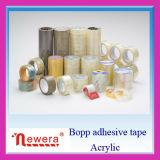 28 ans d'usine de l'adhésif BOPP d'emballage de bande de gomme forte Rolls