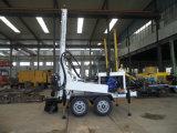 トレーラーのタイプ水鋭い機械(HF150T)は泥ポンプおよび空気圧縮機を、使用できる
