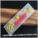 Escritura de la etiqueta plástica de la ropa multi del color del OEM