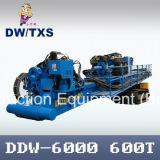 Máquina de perforación direccional horizontal (DDW-6000) para el proyecto de cruce de larga distancia