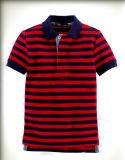 Le dernier tronçon Short-Sleeve Polo Shirt du garçon Kid's T-shirt et d'enfants de l'habillement