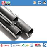 Tubulação 304L 316 316L de aço inoxidável de ASTM/AISI/JIS 304 para a decoração