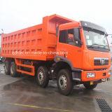 중국 트럭 FAW 판매를 위한 아주 새로운 50t Rhd 8X4 팁 주는 사람 트럭