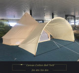 Playdo 100% toile en coton 5m Bell Tent - Zipped in Ground Sheet Camping Tent