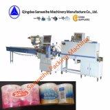 Hisopos de algodón de la máquina de embalaje retráctil automática