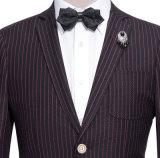 最も新しいカスタム細く厚く長い袖ビジネス高く壮大な人のスーツ