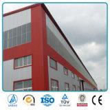 Edificio industrial prefabricado de la pequeña estructura industrial del metal
