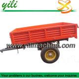 De Aanhangwagen van de vrachtwagen, de Aanhangwagen van de Tractor van de Stortplaats, Vier Wielen
