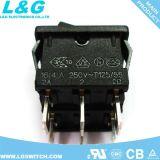 UL ENEC 16A250VAC 힘 로커 스위치 22*19mm