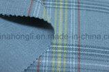 Tela teñida hilado de la tela escocesa de T/R, tela de la Doble-Capa, 230GSM