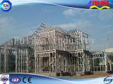 Edificio de varios pisos de la estructura de acero (FLM-021)