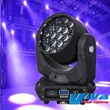 LED Prolight RGBW Zoom Zoom Quad LED Osram laver la tête mobile Lighht/phase Lumière
