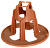 خرسانة مستديرة بلاستيكيّة [بّ] [ربر] كرسي تثبيت مباعدات