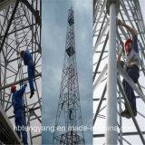 Гальванизированная башня сигнала Telecommuncation угла стальная