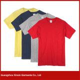 カスタマイズされたヨーロッパのサイズは安く広告のための100綿のTシャツを嘆く(R100)