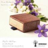 Коробка изготовленный на заказ деревянного кольца Hongdao упаковывая для Gift_D