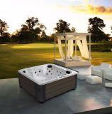 支えがない正方形の形のハイドロマッサージの鉱泉の渦の屋外の余暇の温水浴槽(M-3383)