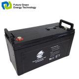 batteries d'accumulateurs d'acide de plomb de système d'alimentation solaire de 12V 120ah