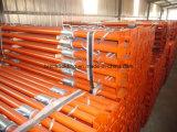 Suporte de aço de Ajustable do suporte do andaime da construção do material de edifício