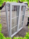 O vidro temperado de PVC/UPVC Incline e gire o Window