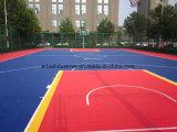 Estera modular antiestática del suelo de los PP para el patio/la corte de la gimnasia/de los deportes