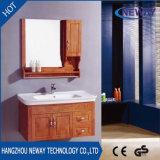 Neuer Entwurfs-hölzerne Handelsbadezimmer-Eitelkeits-Geräte