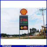 Station d'essence permanent pylône de métal