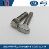 Berufshersteller spezialisiert auf verzinkte Hauptschraube des Stahl-T