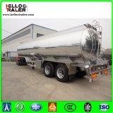 Doppelter Aluminiumlegierung-Kraftstoff-Tanker-halb Schlussteil der Wellen-42000L