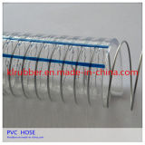 Clair de haute qualité du fil en acier flexible d'aspiration en PVC renforcé