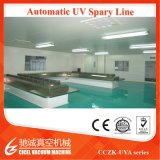 Revestimento de vácuo de metalização UV Machine/UV dos tampões plásticos que cura a linha