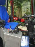 O melhor mini carregador de madeira do motor da máquina do equipamento agrícola do carregador do carregador 908 da roda de Hzm mini